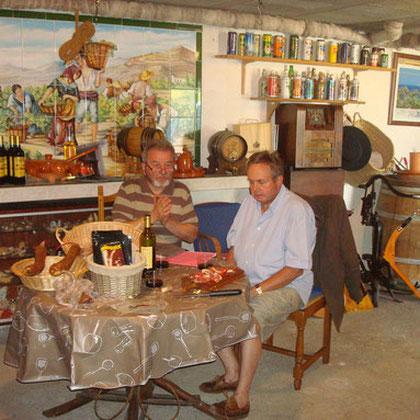 Jean Marie Lagorce et Mr Parron du Lions club de Saint Junien 87220