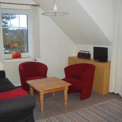 Monteurwohnung Karlshagen Wohnzimmer