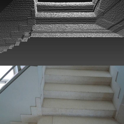 3D Reconstruction. Stairs