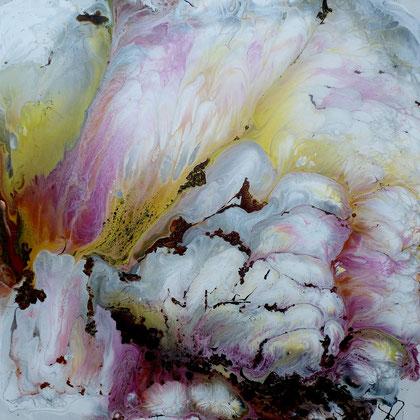 Cloud, Lacke auf Leinwand, 50x50 cm, 270 €
