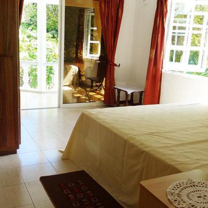 villa: two bedrooms