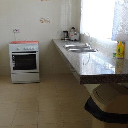 villa: kitchen