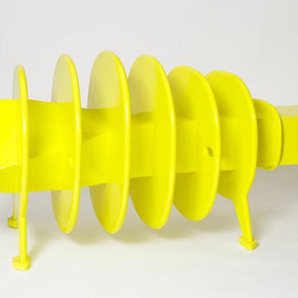 Produkt # 004 – Polymergips, Glasfaser, Autolack