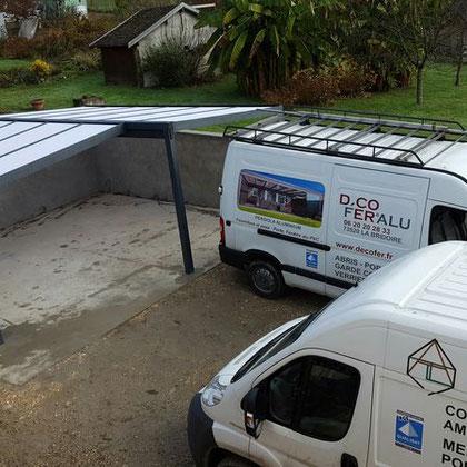Décofer & Alu  installe des carports et pergolas aluminium en Pays de Savoie et en Isère