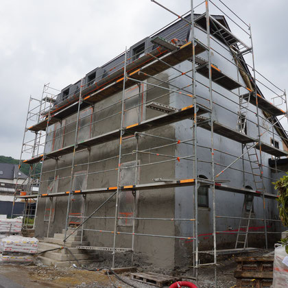 chantier enduits de façades