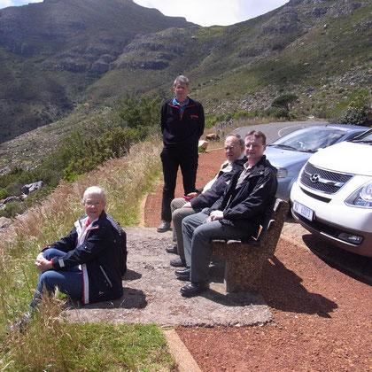 Rastplatz - den Ausblick auf Kapstadt und den Tafelberg genießen