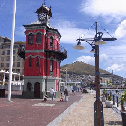 Gebäude an der Waterfront