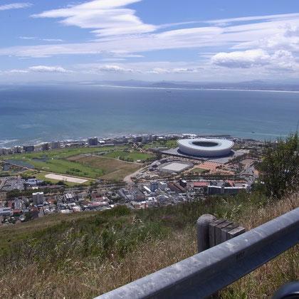 Olympiastadion Kapstadt gebaut für die Fußballweltmeisterschaft 2010