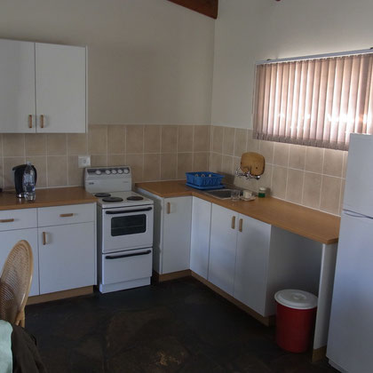 Wohnraum - Küchenecke