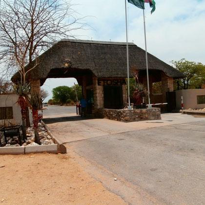 Einfahrt National Park