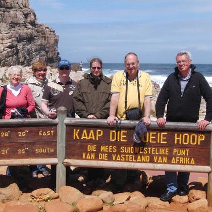 Kap der guten Hoffnung - südlichster Punkt Afrikas