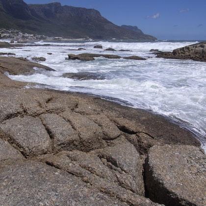 Sea Point Felsen und Wasser