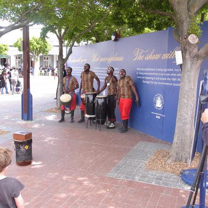 Musik an der Waterfront