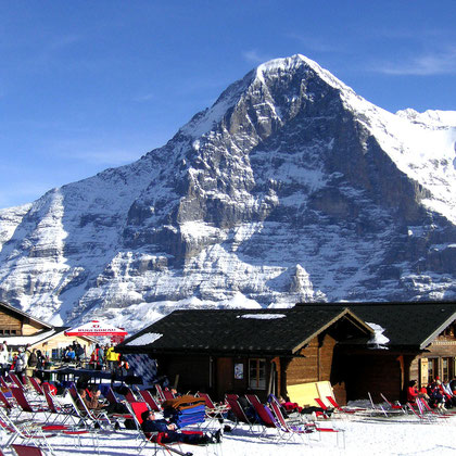 Skifahren im Berneroberland