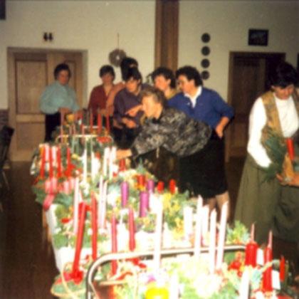 Jahreshauptversammlung in den 80ern