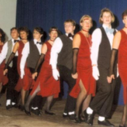 Tanzgruppe  1998
