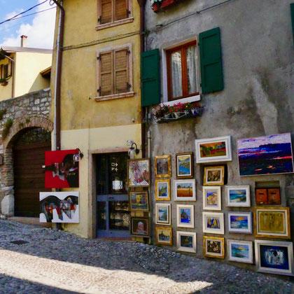 Italien Malcesine Gardasee