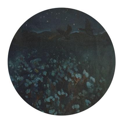 cotton - 2018 - oil on canvas, 120 cm