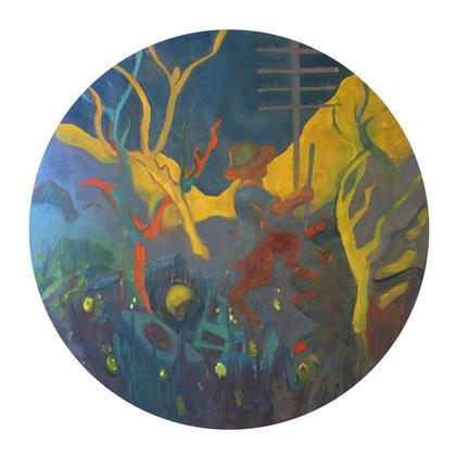 2018 - oil on canvas, 120 cm