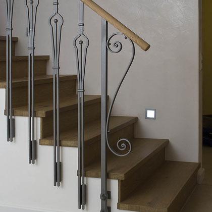Treppenstufen Eiche Patina Sonderton