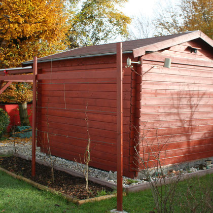 Unsere Sternwarte im Herbst 2014 - Our Observatory in Autumn 2014