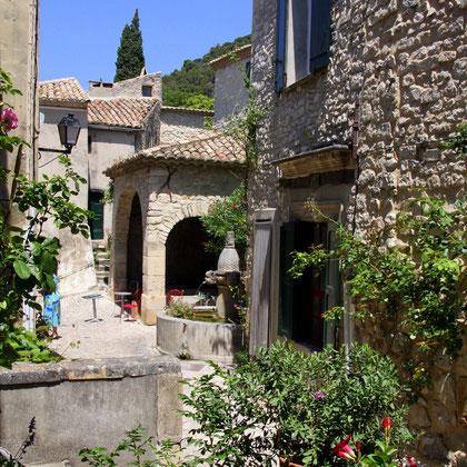 Bild: Séguret, Vaucluse, Provence