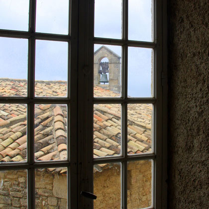 Bild: Aussicht von Schloss Barroux