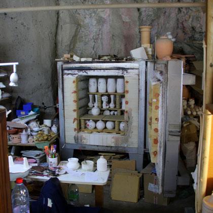 Bild: Brennofen einer Fayence in Moustiers-Sainte-Marie