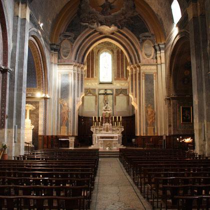 Bild: Innenraum der Kirche Notre-Dame-de-Nazareth, Orange