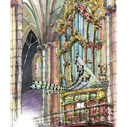 Órgano de la Catedral.