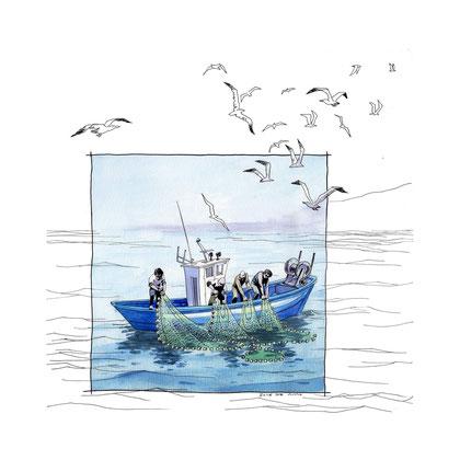 Pesca con Morena.
