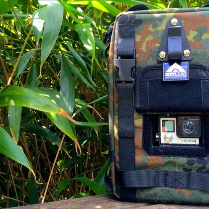 Action cam bag GIPFLbag Kameratasche Fototasche Rucksack bagpack trinkrucksack hydration bladder
