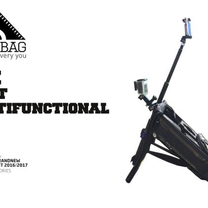 Action cam bag kamera tasche foto rucksack case stativ tripod multifunktional gipflbag ispo finalist