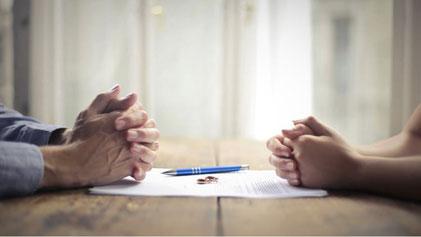 Trennung und Scheidung regeln