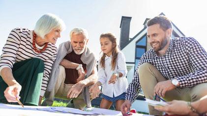Übergabevertrag: Immobilie den Kindern übertragen