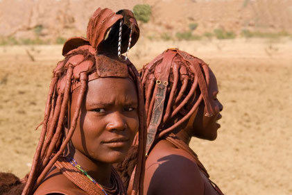 Matthias Gößmann: Himbafrauen im Kaokoveld; Namibia