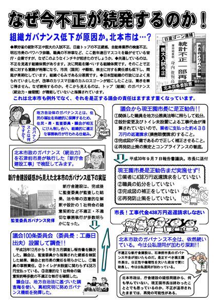 市民の力 機関紙 第31号 (2019/2)