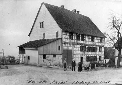 Foto um 1900; Privatbesitz