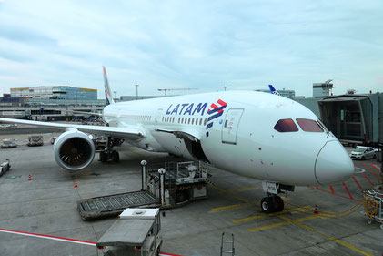 Frankfurt - Madrid (LA705)