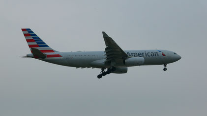 This Airbus A330-200 brought me safely to Philadelphia