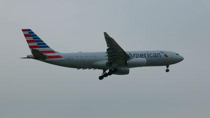 Diese Airbus A330-200 hat mich sicher nach Philadelphia gebracht