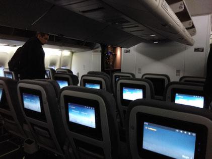 Lufthansa's new economy class