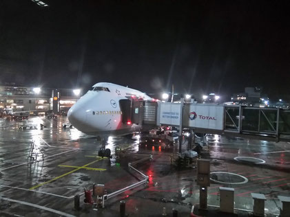 D-ABVO at her gate in Frankfurt