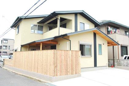 出屋敷の家 木塀