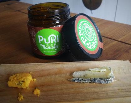 Shropshire et Trèfle avec miel de Manuka
