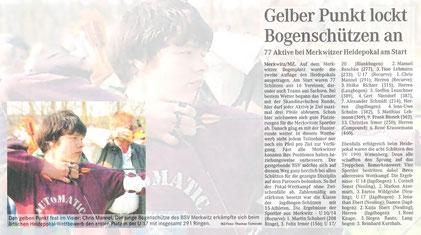 Fotocollage & Artikel - 2. Heide-Wanderpokal in Merkwitz 2005