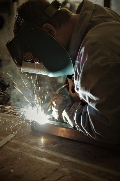 Ausbildung Metallbau Meschede Schweißen