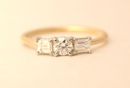 Pt900,K18,Diamond