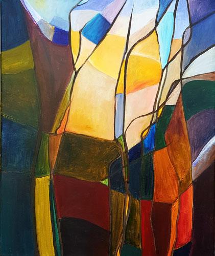 Die Ferne, Acryl, 50 x 60 cm   2020
