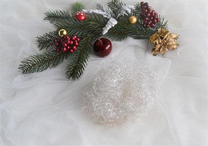 Feenhaar (Decohaar) silber